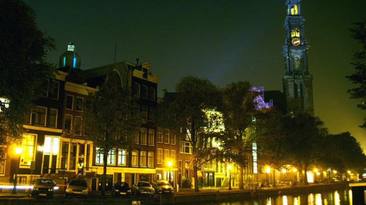 Prinsengracht_Canal_By_Night