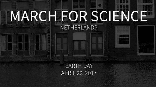 March for science affiche mars voor de wetenschap